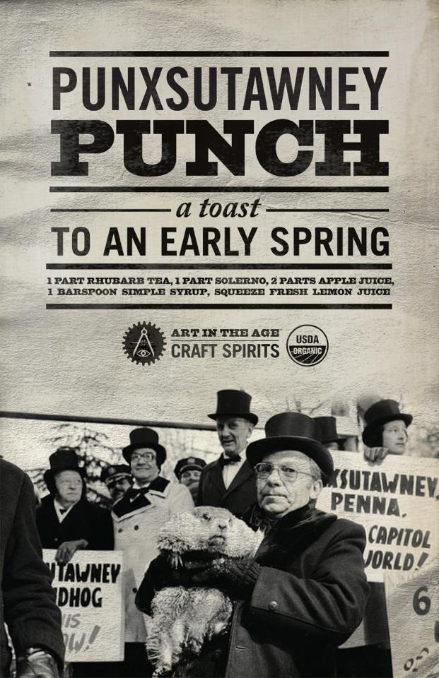 Punxsutawney Punch Image artintheage.com